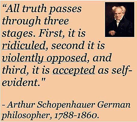 3 stages of truth