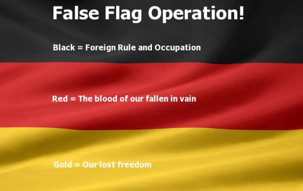 german false flag
