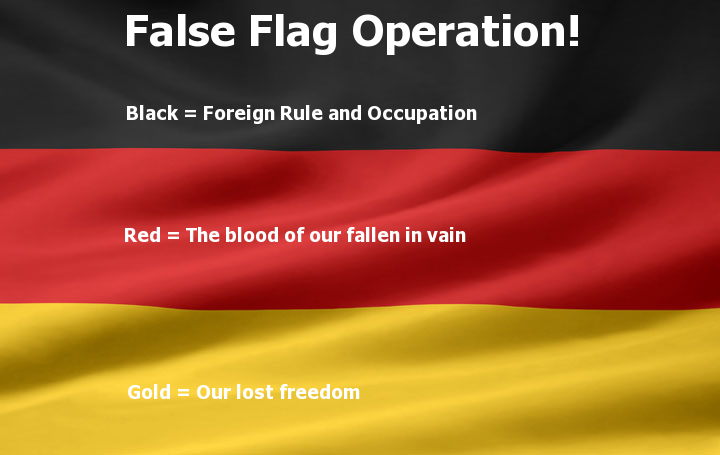 german false flag