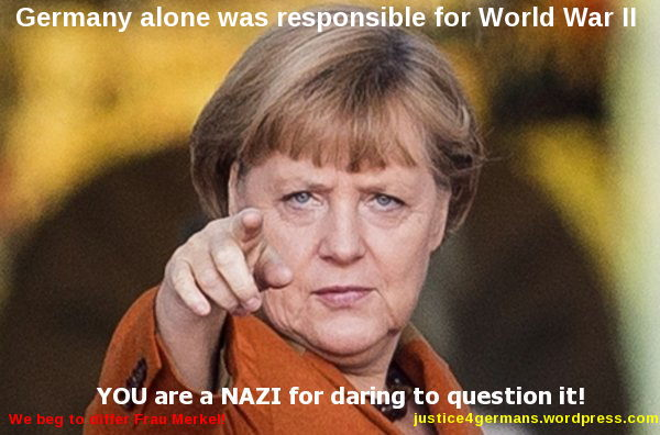 Merkel - It is all your fault