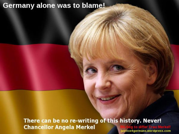 Merkel - All your fault!