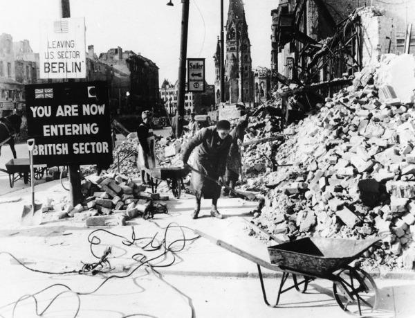 Berlin debris