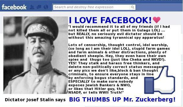 Stalin Loves Facebook