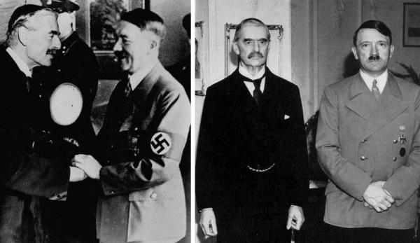 hitler chamberlain peace