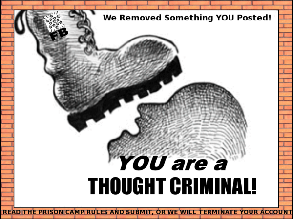Facebook Thought Crimes