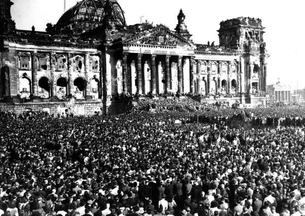 Berlin protest 1948