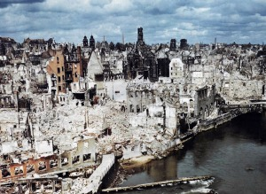 bombed-out Nuremberg