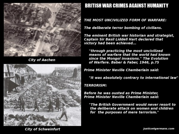 British Terror Bombing of Germany 1