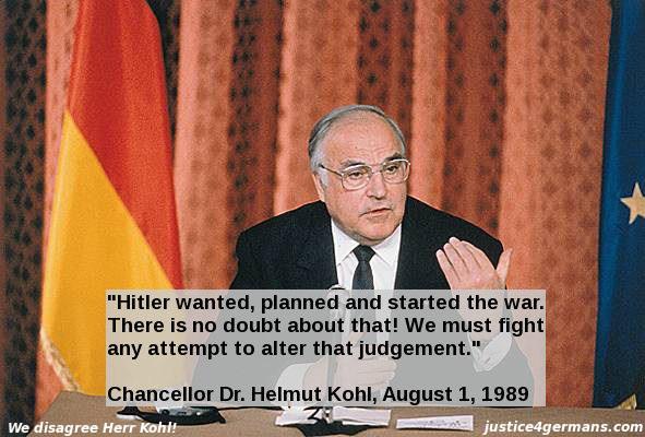 Helmut Kohl - traitor