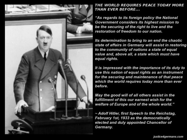 Hitler - The World Needs Peace 1933