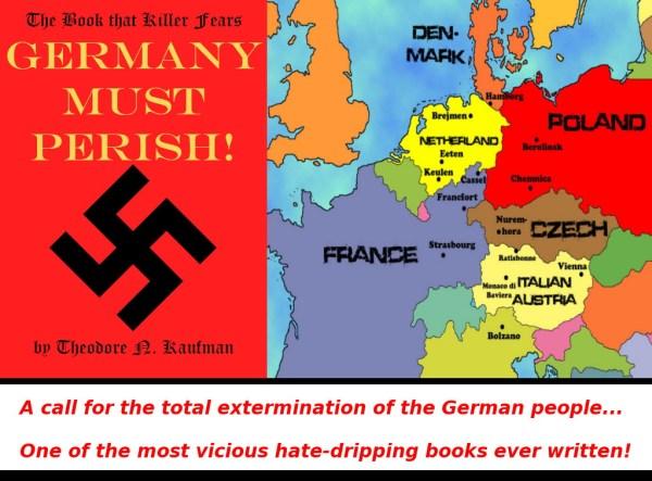 The Kaufmann Plan to Exterminate the Germans