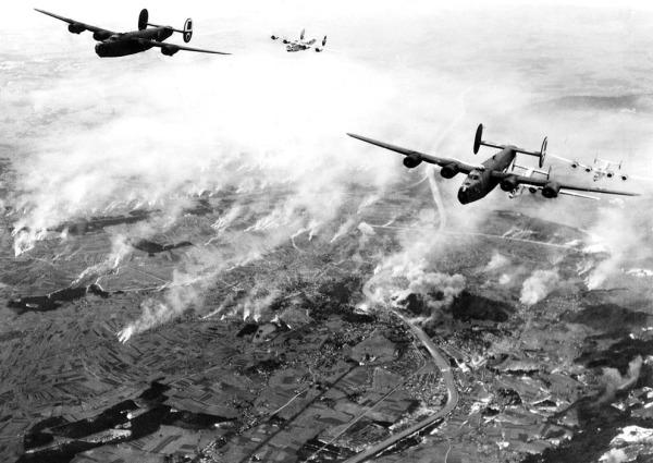 US bombers over Austria