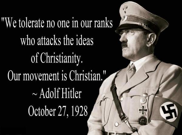 Hitler Christian