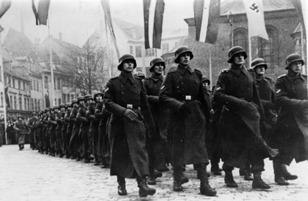 Lettland; Appell der SS-Legion