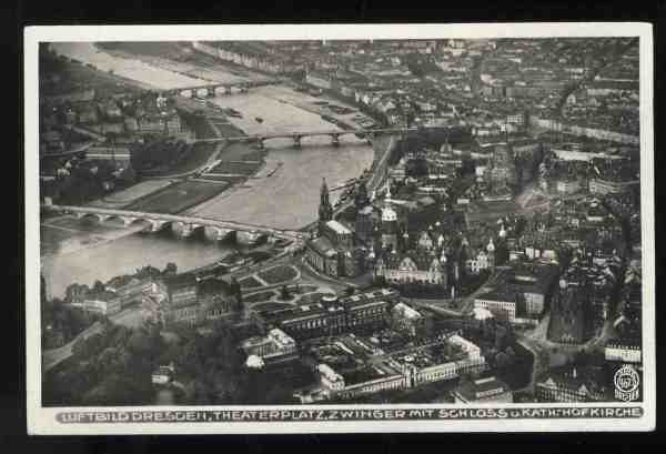 Dresden - pre-war postcard