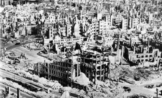 Dresden wasteland