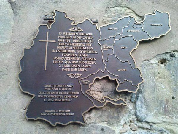 liberation memorial plaque